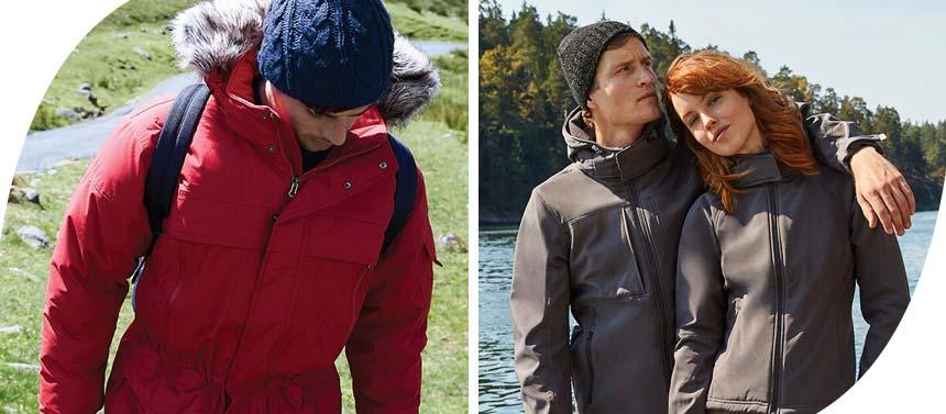 people wearing winter jackets